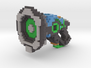 Lucio 8bit Gun in Full Color Sandstone