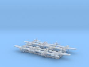 F4F-3 w/Gear x8 (FUD) in Smooth Fine Detail Plastic: 1:500