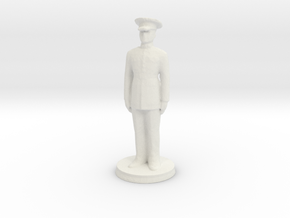 Printle H Homme 391 - 1/48 in White Natural Versatile Plastic