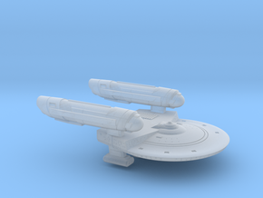 Terran Yvonne Class Frigate - 1:7000 in Smooth Fine Detail Plastic
