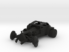 Steam Punk Roadster in Black Natural Versatile Plastic