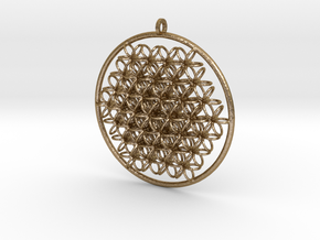 CCI Pendant in Polished Gold Steel