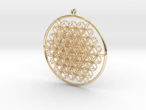 CCI Pendant in 14K Yellow Gold