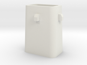 Stahlkokille 4 Zapfen ohne Boden 1:120 in White Strong & Flexible