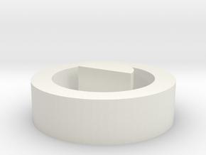 Joytech eGo AIO Pro Box Drip tip cap in White Natural Versatile Plastic