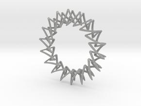 Necklace Escher in Aluminum