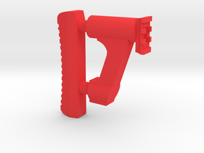 GMU Shoulder Stock (Short Version) in Red Processed Versatile Plastic