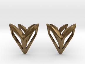 Phantom, Cufflinks. Space Chic in Natural Bronze