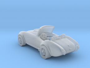 AC Cobra 1:87 HO in Smooth Fine Detail Plastic