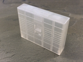 OO Gauge (1/76) Click dnd Collect Locker Medium in Frosted Ultra Detail