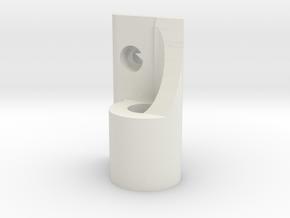 Catalyst Machineworks SL4r Left Hand Runcam Micro in White Strong & Flexible