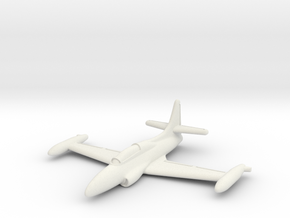 Lockheed T2V-1 Seastar 1/285 6mm in White Natural Versatile Plastic