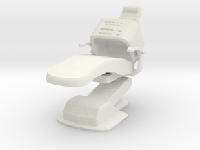 Medical Exam Chair B (Space: 1999), 1/30 in White Natural Versatile Plastic