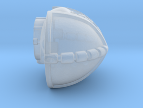 Armored Torso in Smooth Fine Detail Plastic