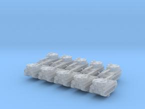 1/600 British FV433 Abbot SPG x10 in Smooth Fine Detail Plastic