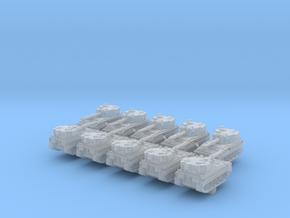 1/700 British FV433 Abbot SPG x10 in Smoothest Fine Detail Plastic
