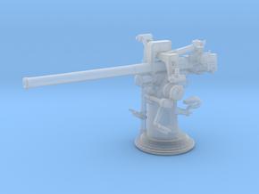 1/172 USN 3 inch 50 (7.62cm) Deck Gun in Smooth Fine Detail Plastic