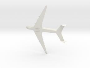 1:285 Antonov An-225 Myira in White Natural Versatile Plastic