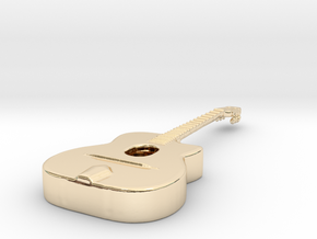 Gipsy Jazz Guitar (Selmer style) in 14K Yellow Gold