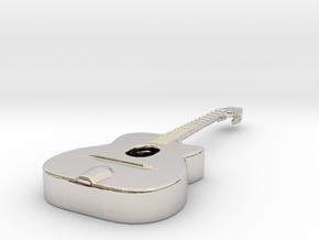Gipsy Jazz Guitar (Selmer style) in Platinum
