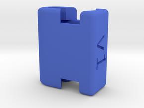 VikingHandle Parts - Slider v1 in Blue Processed Versatile Plastic