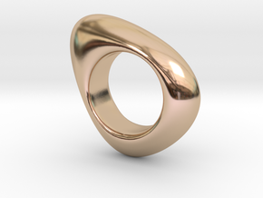 Fluid in 14k Rose Gold Plated: 7 / 54