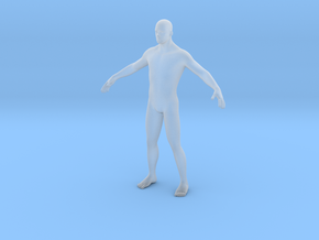 Human body 27mm in Smooth Fine Detail Plastic