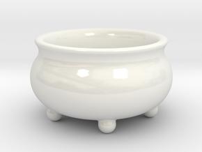 Salt Shaker  in Gloss White Porcelain