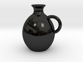 Decanter 0.5L in Gloss Black Porcelain