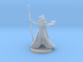 Tiefling  Female Wizard in Smooth Fine Detail Plastic
