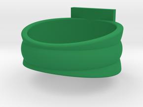 Honor Guard Single Band Sz 16 in Green Processed Versatile Plastic