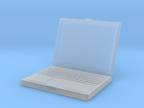 Printle Laptop 01 - 1/35 in Smooth Fine Detail Plastic