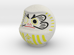 DARUMA(White goukaku) in Full Color Sandstone
