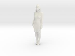 Printle C Femme 383 - 1/87 - wob in White Natural Versatile Plastic