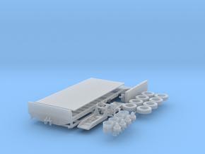 H0 1:87 Landwirtschaftlicher Transportanhänger in Smooth Fine Detail Plastic
