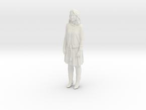 Printle C Femme 408 - 1/87 - wob in White Natural Versatile Plastic