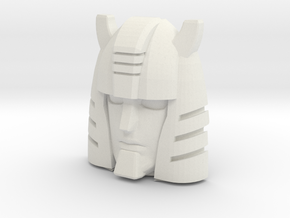 G1 Cliffjumper Face (Titans Return) in White Natural Versatile Plastic