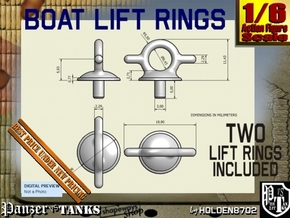 1-6 Lift Ring For Boat in White Strong & Flexible Polished