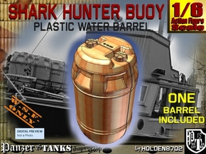 1-6 Shark Hunter Barrel in Yellow Processed Versatile Plastic