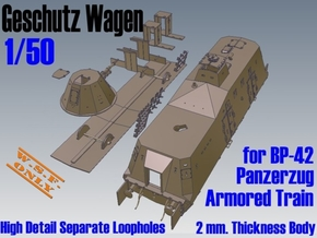 1-50 Sep-Parts G-Wagen For BP-42 in White Natural Versatile Plastic