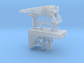 1/16 M2 Browning (50 cal') vehicle mount. in Smooth Fine Detail Plastic