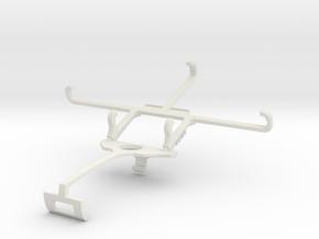Controller mount for Xbox One S & Posh Kick Pro LT in White Natural Versatile Plastic