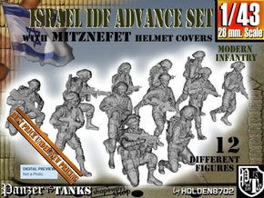 1-43 IDF ADVANCE SET in Smooth Fine Detail Plastic