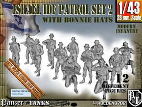 1-43 IDF BONNIE PATROL SET 2 in Smooth Fine Detail Plastic