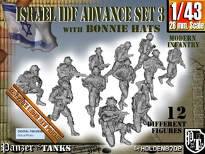 1-43 IDF BONNIE ADVANCE SET 3 in Smooth Fine Detail Plastic