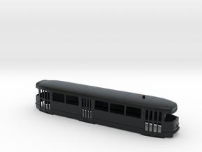 Tatra T2 H0 [body] in Black Hi-Def Acrylate