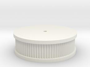 Salvas Mudboss Air Cleaner Flat Top in White Natural Versatile Plastic