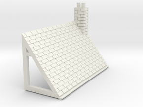 Z-152-lr-comp-stone-t-house-roof-rc-bj in White Natural Versatile Plastic
