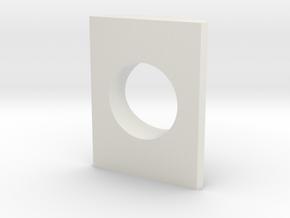 .99 - 12mm Bezel in White Natural Versatile Plastic