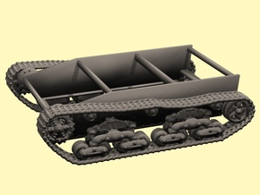 28mm Wk6 tracked chassis in White Processed Versatile Plastic